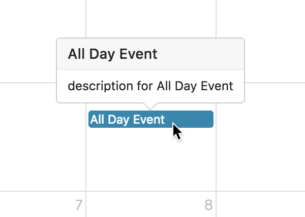 Event Display - Docs | FullCalendar