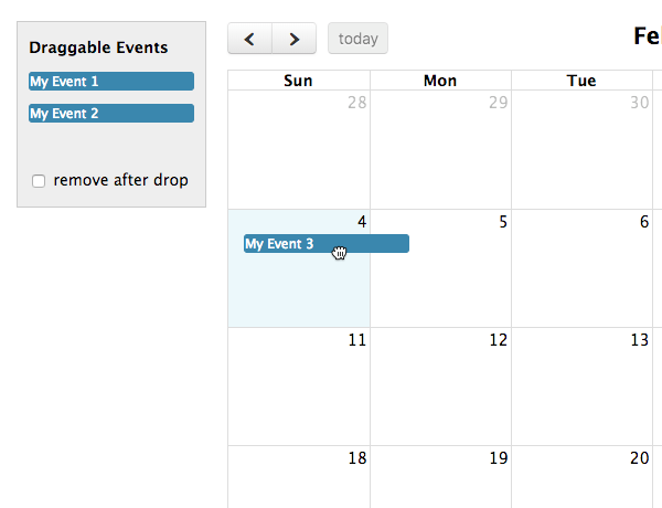 Event Dragging & Resizing - Docs | FullCalendar
