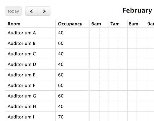 Timeline View - Docs v3   FullCalendar